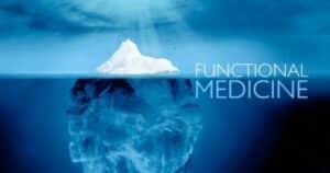 Médecine fonctionnelle utilisant l'analogie de l'iceberg