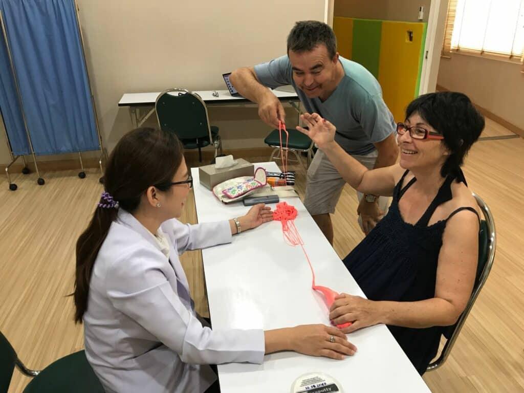 Une patiente atteinte de SLP reçoit un troisième traitement par cellules souches
