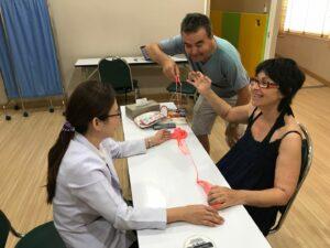 Patient avec SLP reçoit la 3ème thérapie par cellules souches